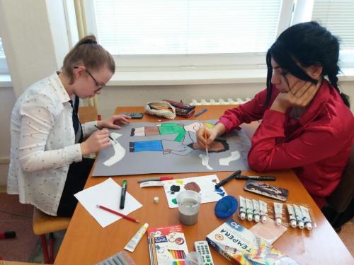 Vyrábame nástenky pre spolužiakov